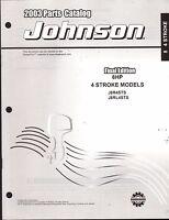 2003 Johnson Outboard Motor 8 Hp 4 Stroke Parts Manual (907)