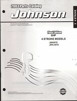 2003 Johnson Outboard Motor 8 Hp 4 Stroke Parts Manual (907)