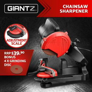 GIANTZ Chainsaw Sharpener Chainsaws Electric Chain Tools Saw Grinder Bench Tool