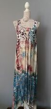 MALVIN HAMBURG GERMANY Kleid Maxikleid Robe Dress Vestido Gr. 36 S