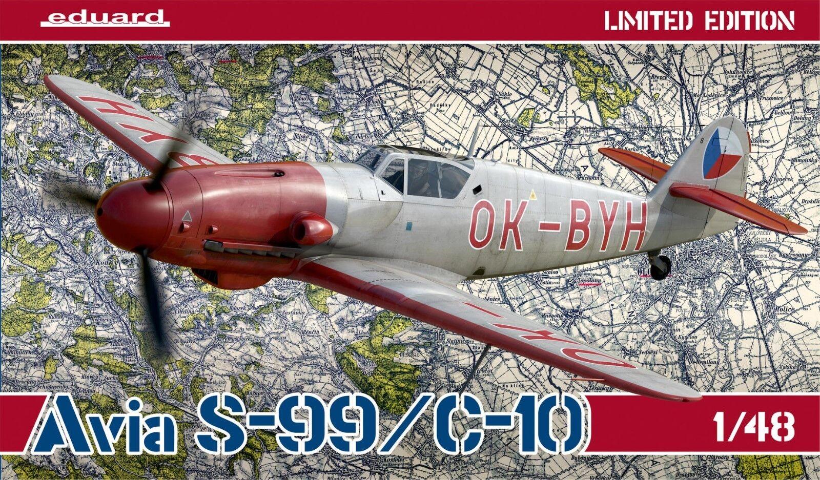 Eduard 11122 1 48th scale Limited Edition Czechoslovak Avia S-99   C-10
