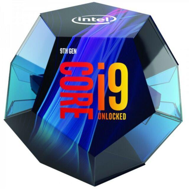 Intel Core i9-9900K 3.6GHz (5.0GHz Turbo) LGA1151 9th Gen 8-Cores 16-Threads 16M