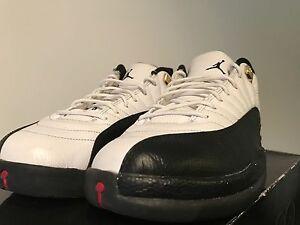 7e056d7e4e4b Nike Air Jordan Retro 12 Taxi Low Size 11 308317 104 2011-12