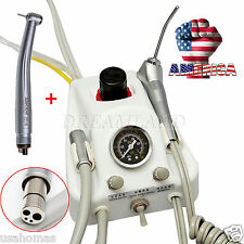 Dental Portable Turbine Delivery Unit 4 H Tube & High Speed Handpiece CC1