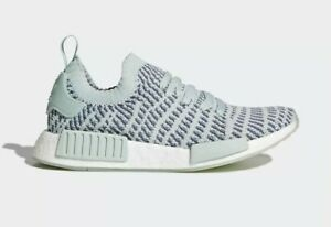 9d687eaae Adidas Original Women s NMD R1 STLT PK Primeknit NEW AUTHENTIC Ash ...