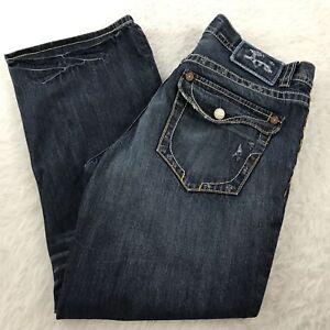Broderie New En York Point Bouton Homme Jeans W L 30 Dnm 36 Mek Bootcut ZFwffq