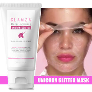 Unicorn-Kit-Glitter-Punti-Neri-MASCHERA-PEEL-OFF-purificante-Pore-amp-Sonno-Eye-Mask