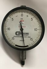 Brown Amp Sharpe Standard Gage D1 23228 A Dial Indicator 0 100 Range 0005