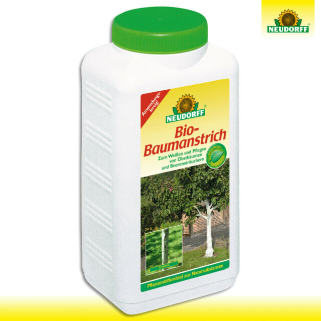 Neudorff 2 Litros Bio-Baumanstrich Cuidado Árbol Frutal Arbustos Bayas Blanco
