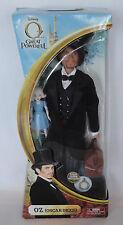 """Disney Oz The Great & Powerful Oscar Diggs OZ Doll 12"""" w/China Doll 2013 3+ NMIB"""