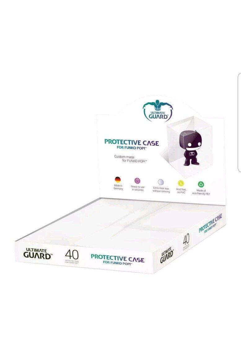 Funko pop prossoector soft ultimate guard scatola da 40 pezzi SPEDIZIONE IMMEDIATA