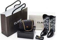 Re-ment Miniature Department Store Shopping Women Handbag Shoes Black 3/f