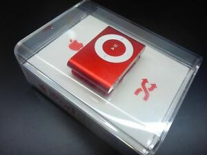 NEU Apple iPod shuffle 1GB RED PRODUCT 2.Generation MB817ZK/A 2G Special EDITION