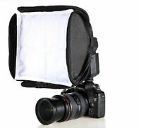 23cm Soft box Diffuser For Canon 5D II 650D 430EX 580EX II 550EX Flash SpeedLite