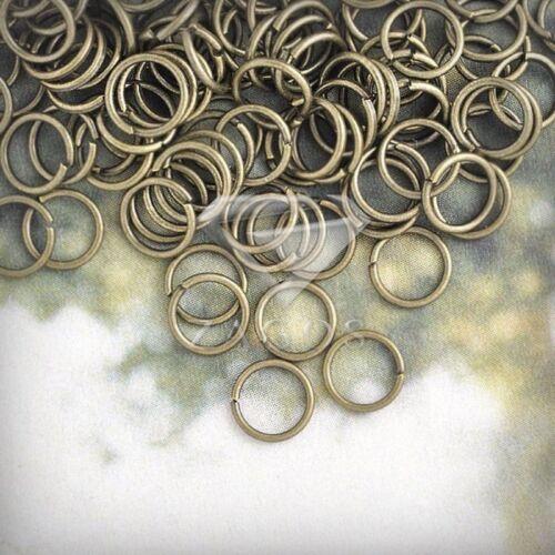 30g Anillos De Salto Abierta De Latón Antiguo Joyería Bricolaje 6 mm ajuste encontrar Aprox 540 un