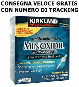 MINOXIDIL-KIRKLAND-5-LOZIONE-6-MESI-DI-TRATTEMENTO-VALIDO-AL-NOVEMBRE-2019