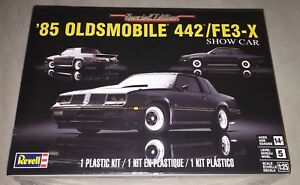 Revell-039-85-Oldsmobile-442-FE3-X-Show-Car-1-25-model-car-kit-new-4446
