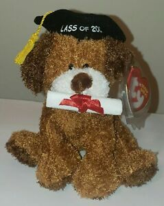 Ty Beanie Baby - HONOR ROLL the 2007 Graduation Dog (Internet Exclusive) MWMT