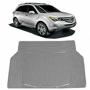 Charcoal Gray Weather Pro Rubber Cargo Trunk Mat For