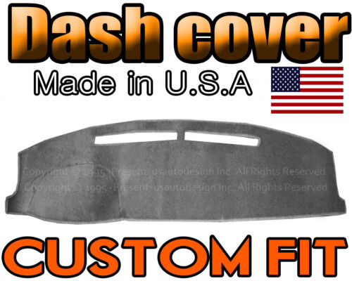 CHARCOAL GREY Fits 1997-2003 CHEVROLET MALIBU  DASH COVER MAT DASHBOARD PAD