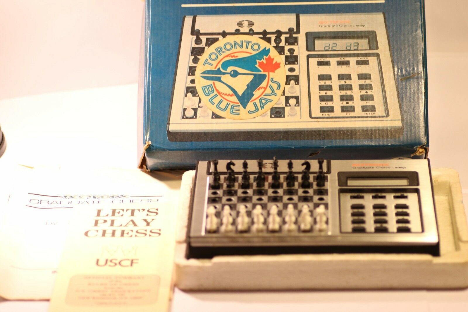 RARE VINTAGE Chess Computer acetronic & SCISYS made in Hong Kong anni 1980