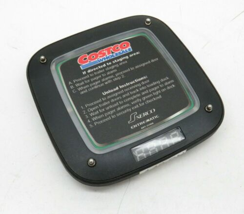 LRS Long Range Systems RX-CS7 Light-Up Coaster Guest Pager
