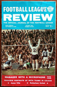 Football-League-Review-Volume-2-Number-7-September-30th-1967