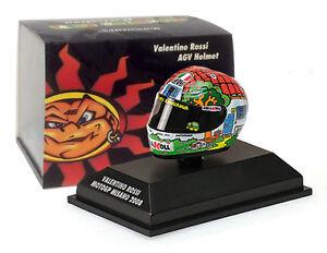 Casque Minichamps Valentino Rossi - Motogp Misano 2008 Echelle 1/8 4012138108073