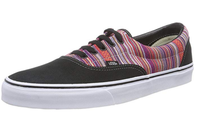 aecf0a7827 VANS off The Wall Era Guate Weave Black Multi Stripe Mens Shoes 13 ...