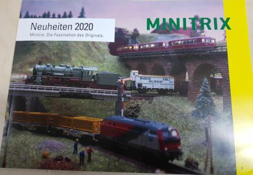 Minitrix Neuheitenheft 2020 Spur N