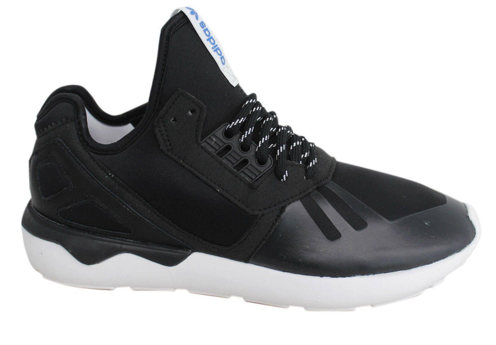 Adidas Originals Tubular Runner Lace Up Mens Black Trainers M19648 M6 Cheap and beautiful fashion