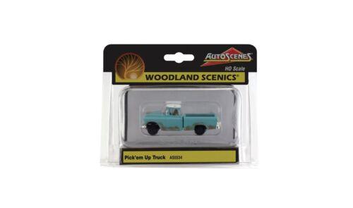 WOODLAND SCENICS was5534 h0 auto scena la arrugginite trolley è ancora