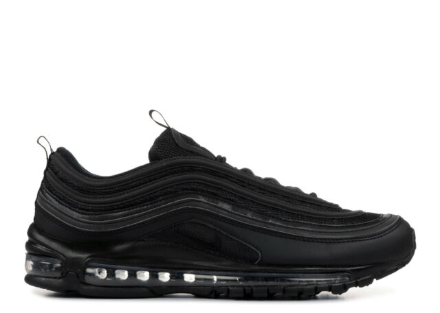 RARE Nike Air Max 97 Triple Black BQ4567 001