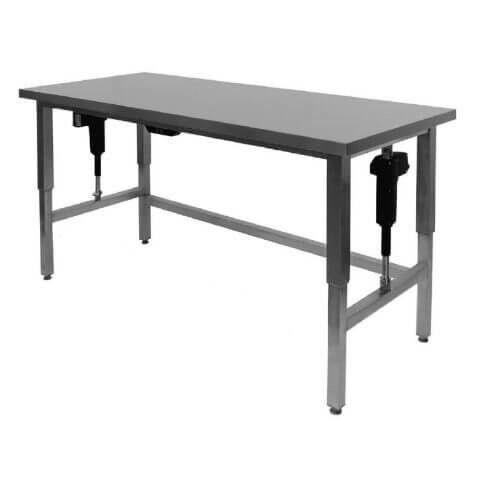 Rustfri Hæve-/sænkebord