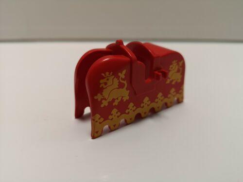 2490px3 LEGO-Cavallo Barda-Giallo Leoni sul rosso-Cavalieri Leone