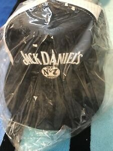 MINT-2003-JACK-DANIELS-OLD-7-Sealed-package-Trucker-Mesh-Foam-Snapback-Hat-rare