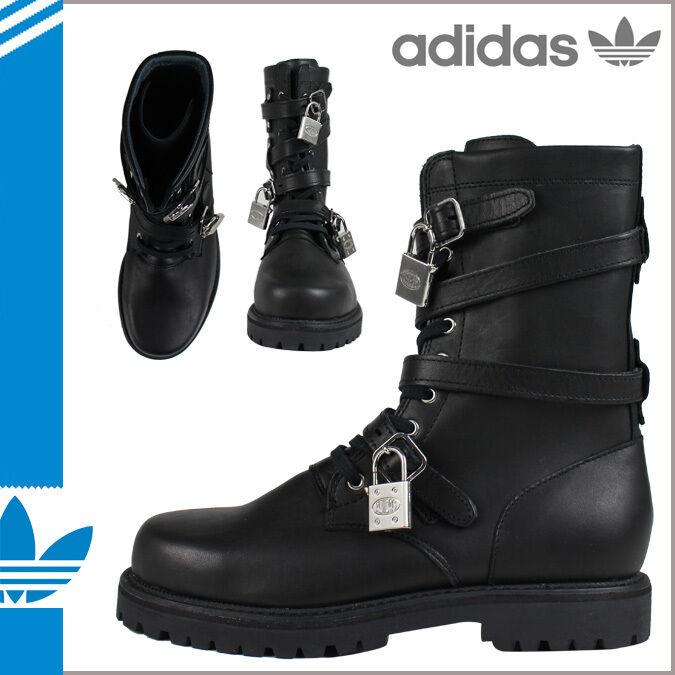 2011 Adidas Tres  Jeremy Scott Botas Miltares Negro Tres Adidas Llaves Muy Raro ecdda5