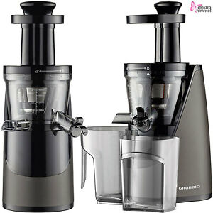 grundig slow juicer profi entsafter saftpresse obst gem se frucht presse mixer ebay. Black Bedroom Furniture Sets. Home Design Ideas