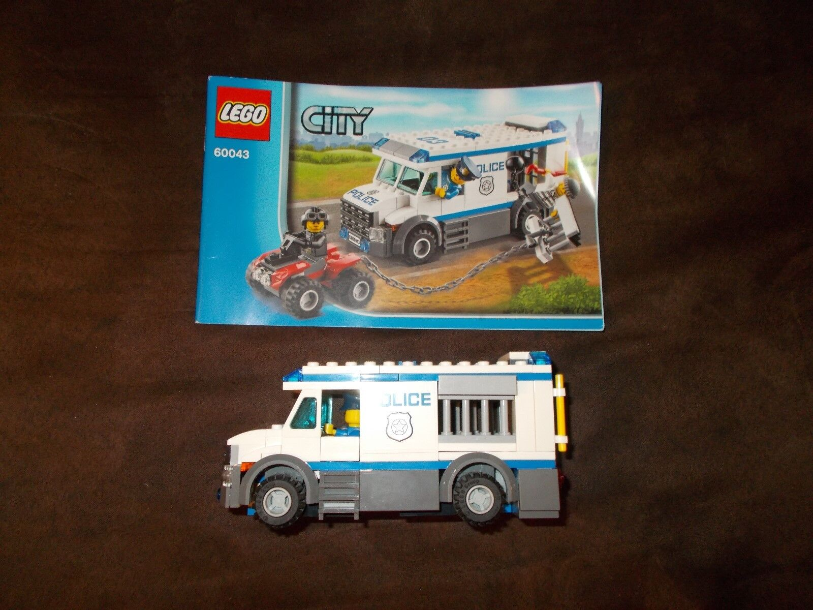 Lego® City - Polizei Konvolut - 3 Sets - 60043, 4436, 7285 mit Bauanleitung (BA)