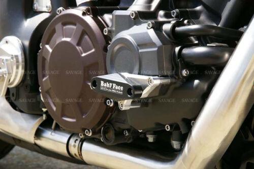 For YAMAHA V-MAX 1700 2009-2016 Engine Cover Crash Pad Frame Protector Slider