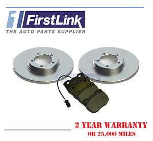 FITS METROCAB II TAXI 1990-2006 Front Brake Discs Pads Full Set 284mm
