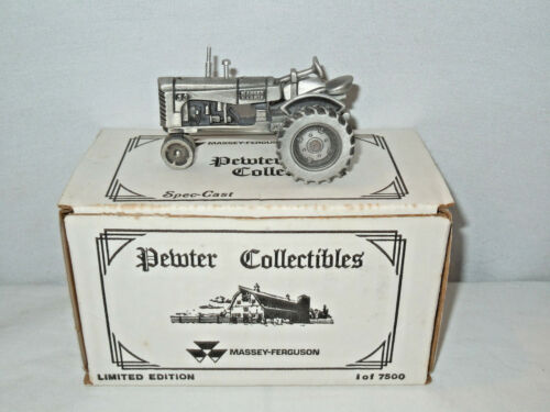 Massey Harris Pewter 33 Narrow Front By SpecCast 143rd Scale