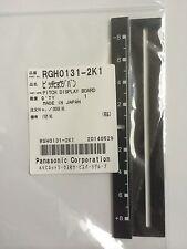 Org. Technics 1210 MK2 Pitch Blende Anzeige Display Schwarz DISPLAY RGH0131-2K1