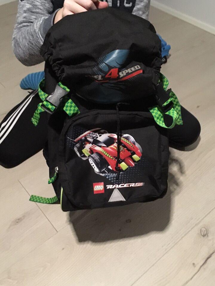 Skoletaske, Begynder taske, Lego