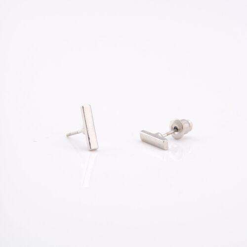 Casual Punk Earings Simple T Bar Earrings Women Ear Stud Earrings Jewelry FO