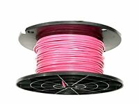 16 Gauge Wire Pink 50 Ft Primary Awg Stranded Copper Power Ground Mtw Vw-1 Tew
