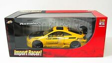 Toyota Celica Swift Import Racer! Diecast Model Car - Jada - 1:18 Scale - Yellow