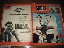 LO SPORT ILLUSTRATO 1954/35=MESSINA FAGGIN MONDIALI CICLISMO=DUKE MOTO GILERA=