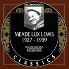 """1927-1939 by Meade """"Lux"""" Lewis (CD, Dec-1993, Classics)"""