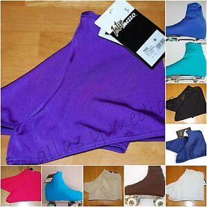 XL-ICE-FIGURE-SKATE-ROLLER-SKATE-SKATING-LYCRA-BOOT-COVERS-NICE-SHEEN